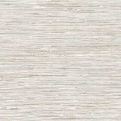 Grasscloth Wallpaper, Grey - Home Depot