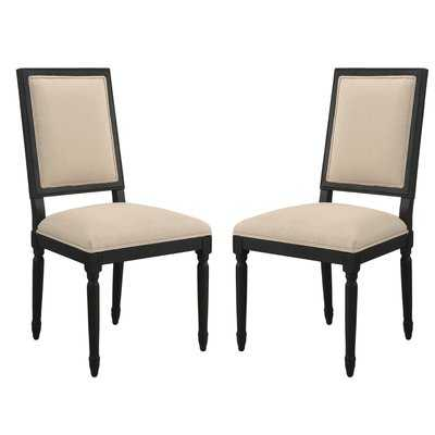 Clatterbuck Upholstered Dining Chairs (set of 2) - Wayfair