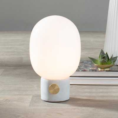 "JWDA Concrete 11"" Table Lamp - AllModern"