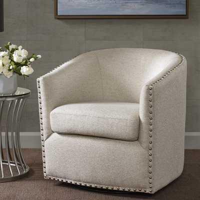 Brigance Swivel Barrel Chair - Birch Lane