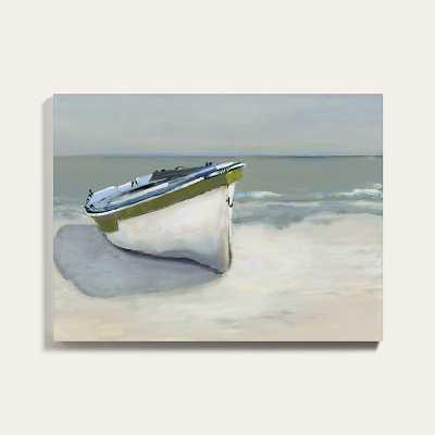 "Ballard Designs Green Turtle Cay Stretched Canvas  40"" x 53"" - Ballard Designs"