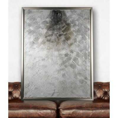 'Silver Fire' Graphic Art Print on Wrapped Canvas - Wayfair