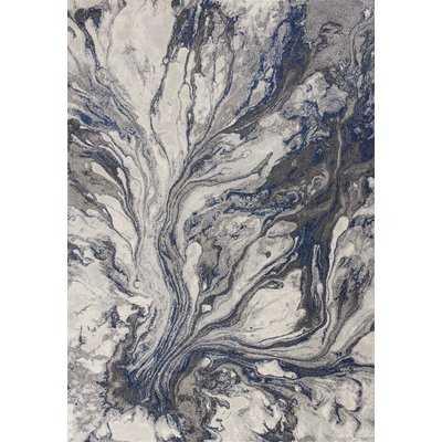Kaia Gray Watercolors Area Rug - AllModern
