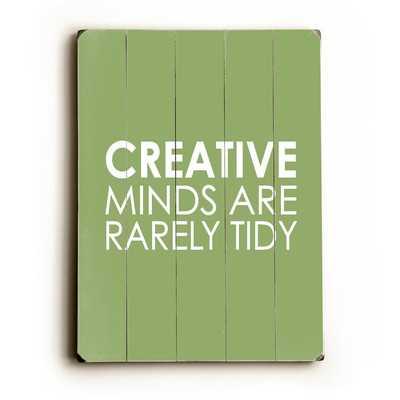 Creative Minds by Amanada Catherine Textual Art Plaque - Wayfair