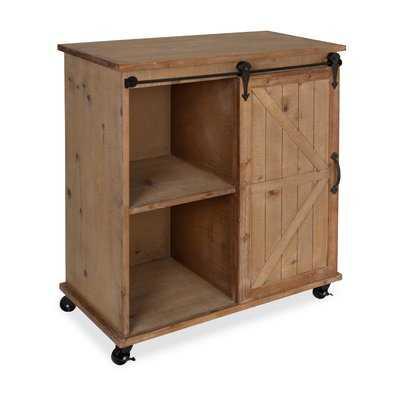 Banbury Multi-Purpose Wooden Rolling Kitchen Cart - Birch Lane