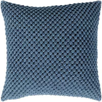 "Godavari - 20"" x 20"" Pillow Kit, down insert - Neva Home"