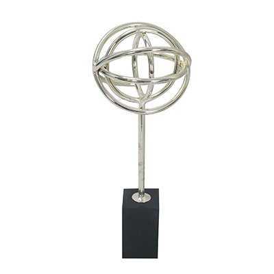 Black Base Table Decor Sculpture - Wayfair