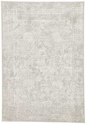 Lianna Abstract Gray/ White Area Rug (9' X 12') - Collective Weavers