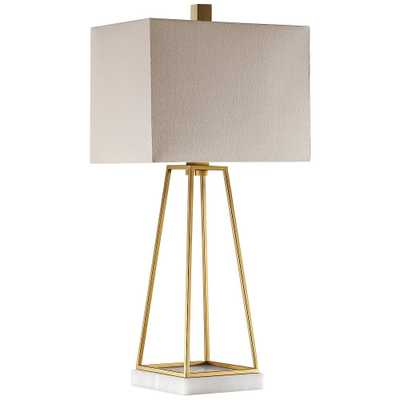 Uttermost Mackean Plated Metallic Gold Table Lamp - Style # 59H50 - Lamps Plus