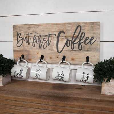 Tumlin But First Coffee Wall Décor - Birch Lane