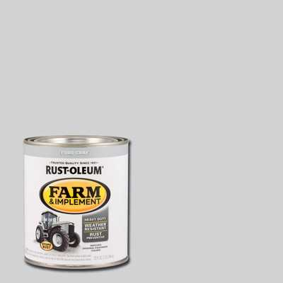 Rust-Oleum 1-qt. Farm and Implement Ford Gray Paint (Case of 2), Grays - Home Depot