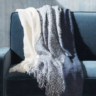 Letti Fringe Throw - Crate and Barrel