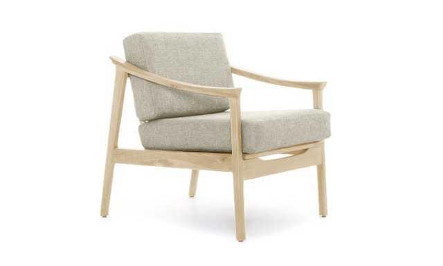 Green Bradshaw Mid Century Modern Chair - Nova Olive - Maple - Joybird