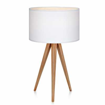 Romanza Tripod Table Lamp with White Shade (Includes Energy Efficient Light Bulb) - Versanora - Target