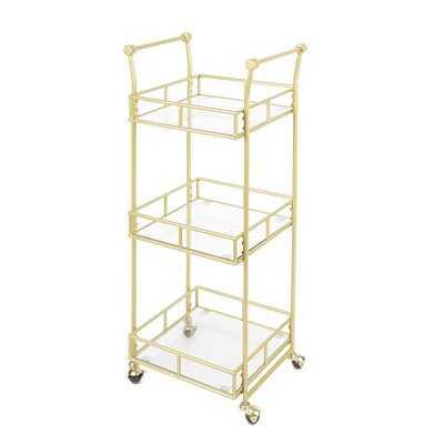 Armando 3 Tier Square Bar Cart - AllModern