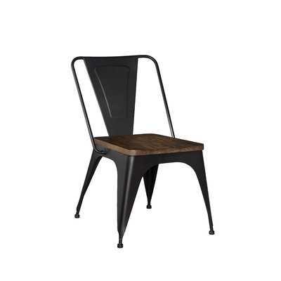 Leandra Metal Dining Chair (Set of 2) - Wayfair