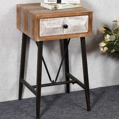 Medfield End Table with Storage - Wayfair