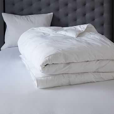 Luxe Botanical Down Alternative Comforter, King - West Elm
