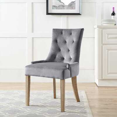 Lenoir Velvet Upholstered Dining Chair - Wayfair