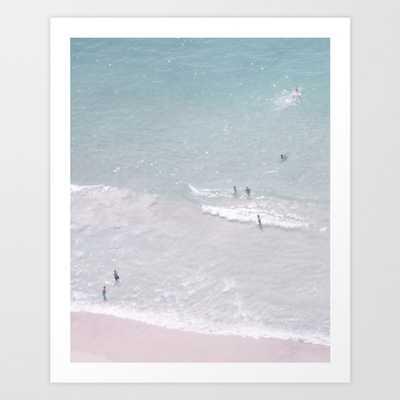 Beach dreams Art Print - Large by Ingz - Society6