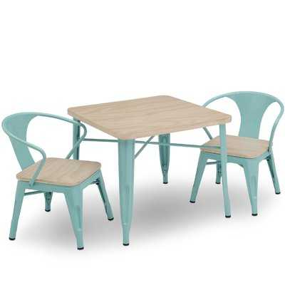 Glastonbury Kids 3 Piece Writing Table and Chair Set - AllModern