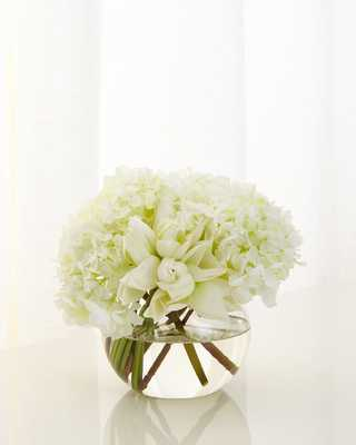 Peonies on Broadway Faux Floral - Horchow