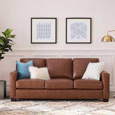 Buckhead Leather Sofa - Birch Lane