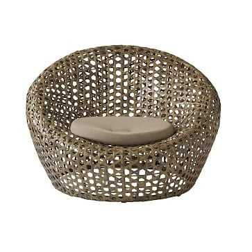 Montauk Nest Chair + Cushion - West Elm