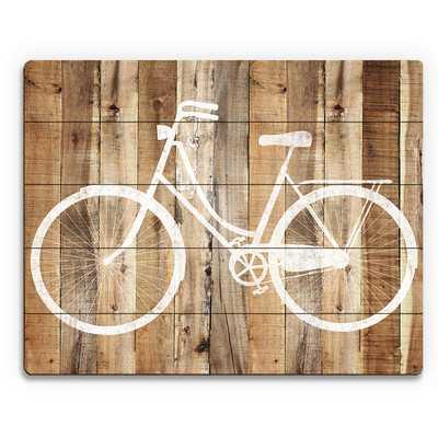 'Bicycle Wood' Wall Art on Plaque - Wayfair