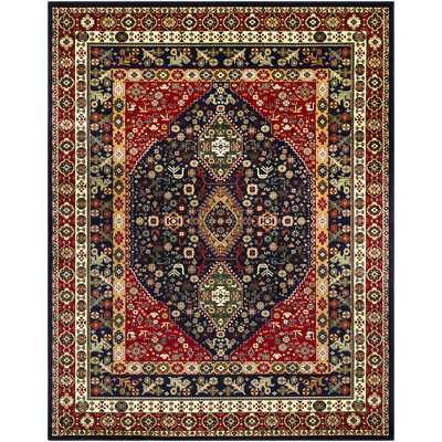 Batchelder Red/Blue Area Rug - Wayfair