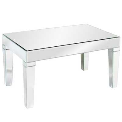 Leo Mirrored Coffee Table - Home Depot