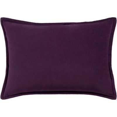 Velizh Poly Standard Pillow, Purple - Home Depot