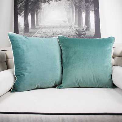 Catanzaro Velvet Throw Pillow - Wayfair