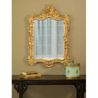 Frazee Ornate English Accent Mirror - Wayfair
