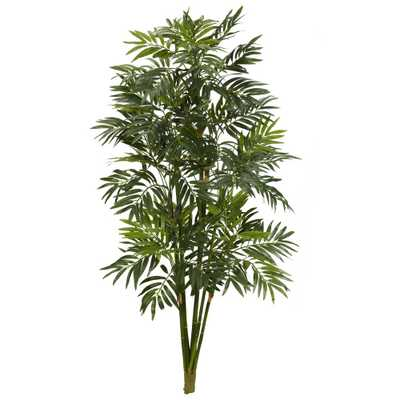 Indoor 3 ft. Mini Bamboo Palm Artificial Plant - Home Depot