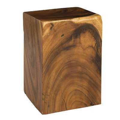 Clifton Wood Accent Stool - Wayfair