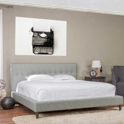 Ethel Gray King Upholstered Bed - Home Depot