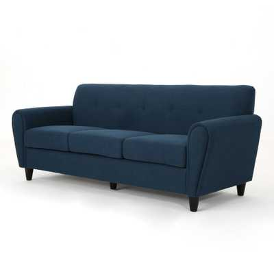Emiliana Traditional Sofa Navy Blue - Christopher Knight Home - Target