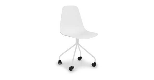 Svelti Pure White Office Chair - Article