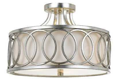 Brayden Studio Templeman 3-Light LED Semi-Flush Mount - Wayfair