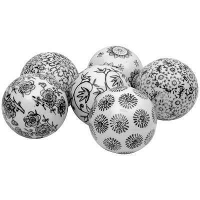 Farrell 6 Piece Decorative Ball Set - Birch Lane