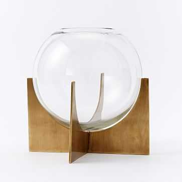 Cross Base Terrarium, Large - West Elm