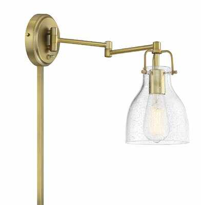 Eleonora Adjustable Swing Arm Lamp - Birch Lane