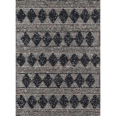 Elissa Hand-Woven Charcoal Area Rug - AllModern