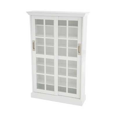 White Media Storage - Home Depot