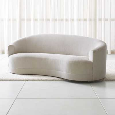Infiniti Curve Back Sofa - Crate and Barrel