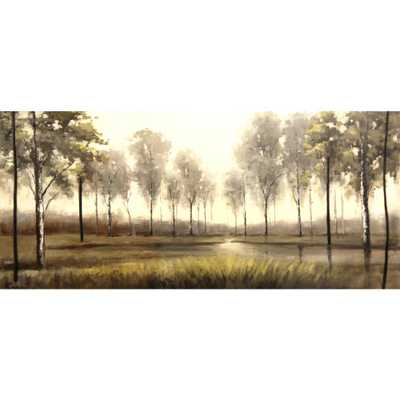 """60 in. x 30 in. """"Demir"""" by Artistic Weavers Canvas Wall Art - Home Depot"""
