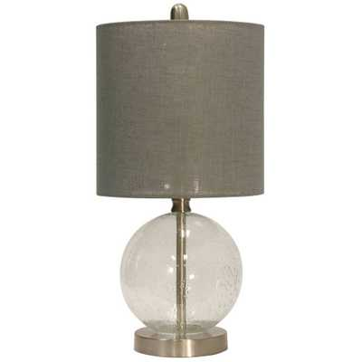 Table Lamp Clear (Includes Light Bulb) - StyleCraft - Target