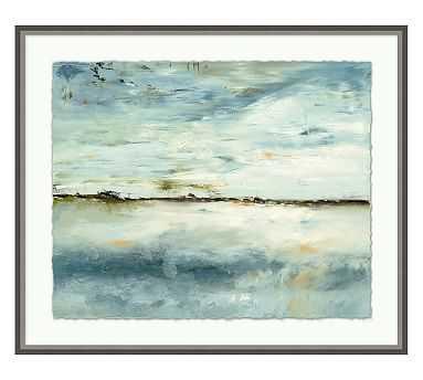 "Solitude Framed Print, 31.25 x 26.25"" - Pottery Barn"