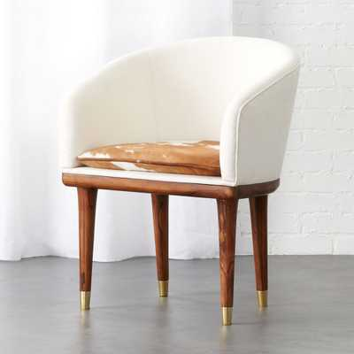 viceroy cowhide chair - CB2